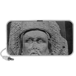Head of the Antipope Clement VII Laptop Speakers