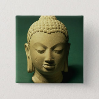 Head of the Buddha, Sarnath (sandstone) Button