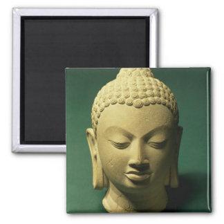 Head of the Buddha, Sarnath (sandstone) Magnet