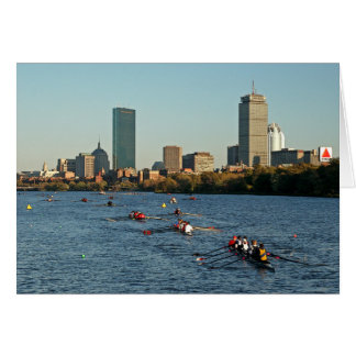 Head of the Charles Regatta Greeting Card