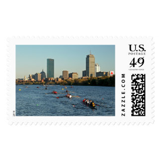 Head of the Charles Regatta Postage Stamp
