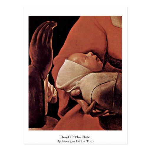 Head Of The Child, By Georges De La Tour Postcard