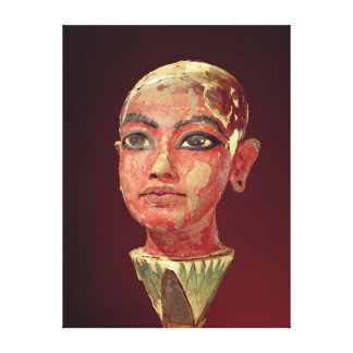 Head of the child king emerging canvas prints
