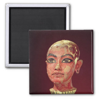 Head of the child king emerging magnet