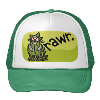 head of the food chain. trucker hat
