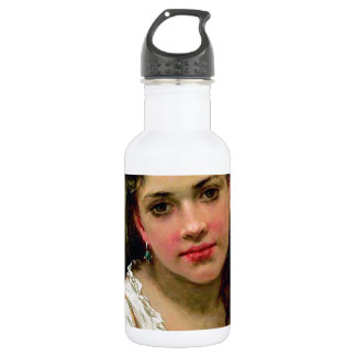 Head Of The Girl 18oz Water Bottle