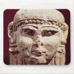 Head of the goddess Ishtar, from Amman, Jordan Mouse Pad