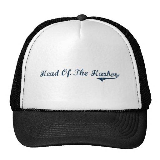 Head Of The Harbor New York Classic Design Trucker Hat