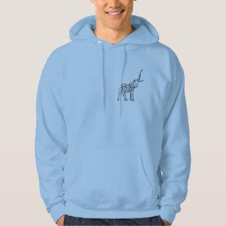 Head of the Herd mens hoodie design