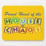 Head of the House of Chaos Mouse Mats
