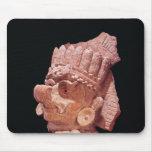Head of the Mayan corn god, Oaxaca, c.500 AD Mouse Pad
