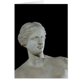 Head of the Venus de Milo, c.100 BC Card