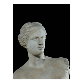 Head of the Venus de Milo, c.100 BC Postcard