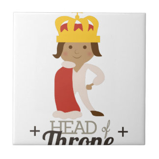 Head Of Throne Small Square Tile