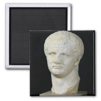 Head of Titus 2 Inch Square Magnet