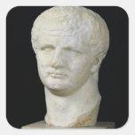 Head of Titus Square Sticker
