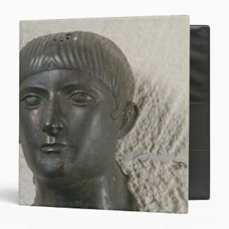 Head of young man, aka 'The Young Aquitaine 3 Ring Binder