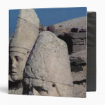 Head of Zeus-Oromandes and a goddess 3 Ring Binder