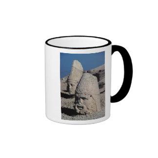 Head of Zeus-Oromandes and a goddess Coffee Mugs