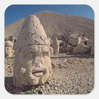 Head of Zeus-Oromandes Square Sticker