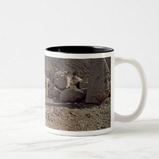 Head of Zeus-Oromandes Two-Tone Coffee Mug