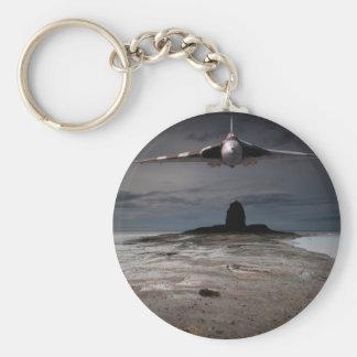 Head On Basic Round Button Keychain