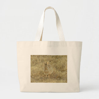 Head On Bunny Large Tote Bag