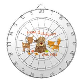 Head Outdoors Get Wild Dartboards
