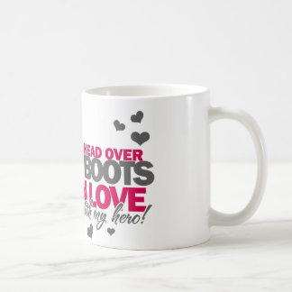Head over Combat Boots Coffee Mug