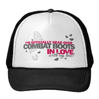 Head over Combat Boots Trucker Hat