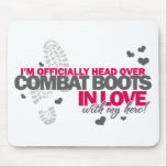 Head over Combat Boots Mousepad