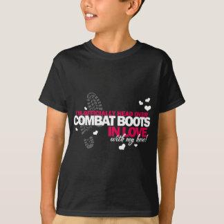 Head over Combat Boots T-Shirt