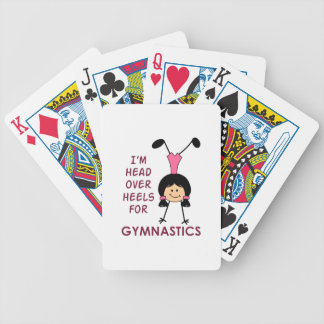 HEAD OVER HEELS BICYCLE PLAYING CARDS