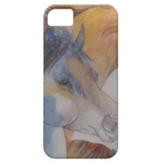 Head Portrait of Mustangs in Pastels iPhone 5 Case