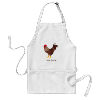 Head Rooster Adult Apron