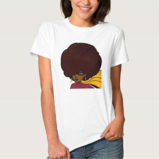 Head Shot of Supa; Big Afro; Supa Hero; Ms Supa Shirts