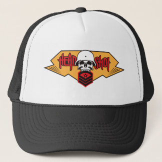 Head Shot print Trucker Hat