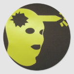 head shot! stickers