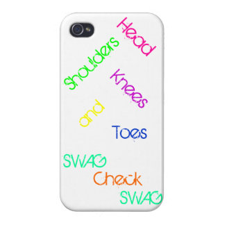 Head, Shoulders, Knees, and Toes iPhone 4 Case
