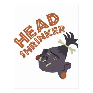 Head Shrinker Postcard