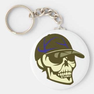 Head skull cap skull cap keychain