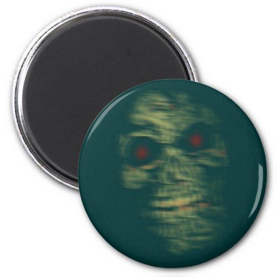 Head skull spirit skull ghost magnet