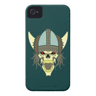 Head skull Viking skull viking iPhone 4 Cases