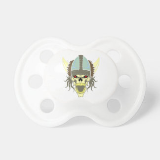 Head skull Viking skull viking Baby Pacifiers