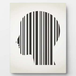 Head stroke a code plaque