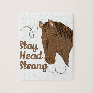 Head Strong Jigsaw Puzzle