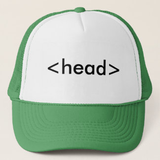 Head Tag Trucker Hat