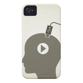 Head the computer Case-Mate iPhone 4 case