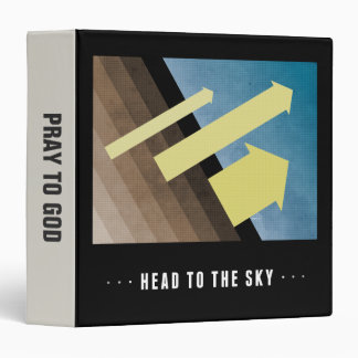 Head To The Sky 3 Ring Binder