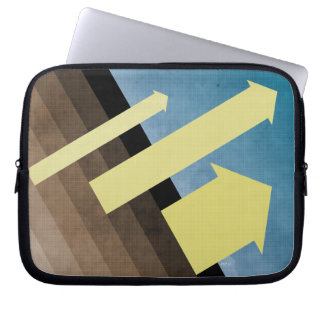 Head To The Sky Laptop Sleeve